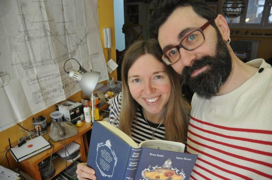 Teresa Radice e Stefano Turconi